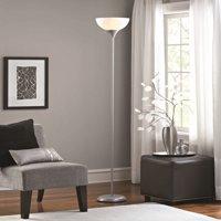 Mainstays Floor Lamp Silver Finish