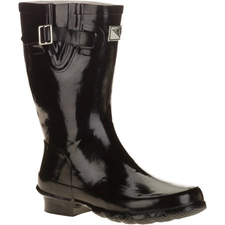 Forever Young Women's Short Shaft Rain Boots (Best Ski Boots For Wide Feet 2019)