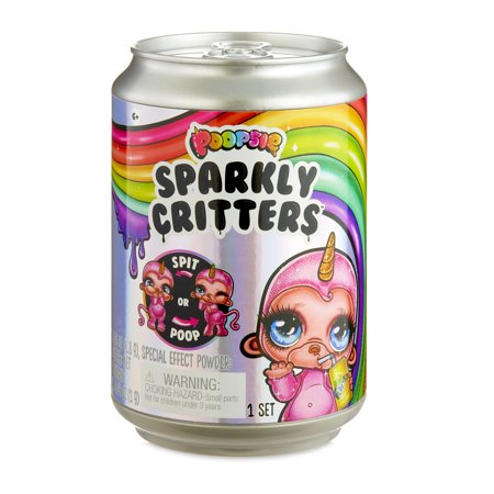 Poopsie Sparkly Critters That Magically Poop or Spit - Fake Poo