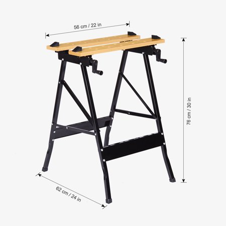 Portable Folding Workbench Foldable Worktop Wood (Best Portable Workbenches)