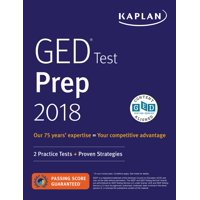 GED Test Prep 2018 : 2 Practice Tests + Proven Strategies