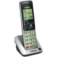 VTech CS6609 Accessory Handset for VTech CS6619, CS6629, CS6648 or CS6649, Silver/Black