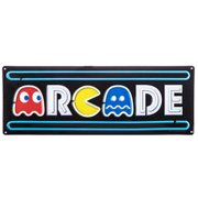Arcade Pac Man Metal Sign Wall Art Home Decoration Theater Media Room Cave