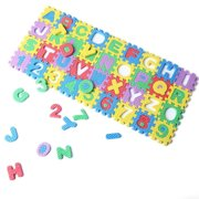 36pcs 0-9 Number A-Z Letters Puzzle Mat Alphabet Puzzle Foam for Toddlers Kids Toys