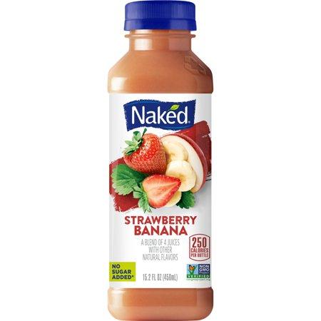 Naked Juice Plant Protein Smoothie, Blueberry Banana, 15.2