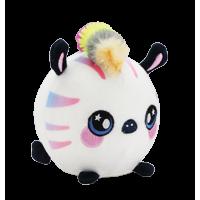 "Squeezamals, Zachry Zebra - 3.5"" Super-Squishy Foam Stuffed Animal! Squishy, Squeezable, Cute, Soft, Adorable!"