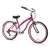 """Kent 26"""" Del Rio Women's, Cruiser Bike, Magenta"""