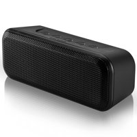 Blackweb Stereo Bluetooth Speaker, Built-In Microphone and Micro-USB Charging Cable