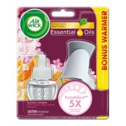 (2 Pack) Air Wick Scented Oil Kit (Warmer + 1 Refill), Summer Delights, Air Freshener