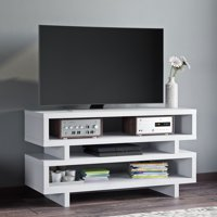 "Better Homes & Gardens Steele Open TV Stand for TVs up to 55"", Multiple Finishes"