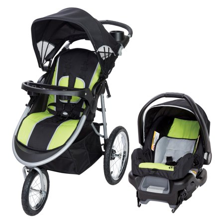 Baby Trend Pathway 35 Jogger Travel System-Optic Green
