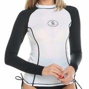 f3a73dc5 FITTOO Women's UPF 50+ Long Sleeve Shirt UV Rash Guard Swimwear Athletic Top  Rashguard Swim