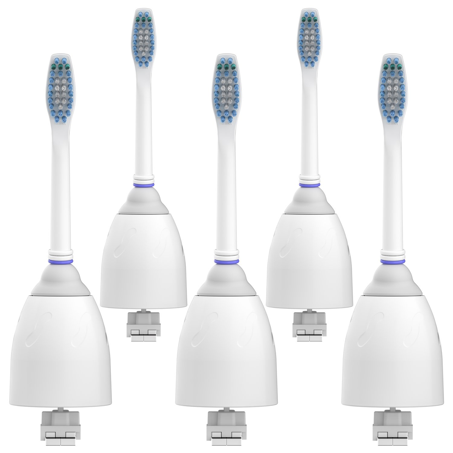 Equate SmileSonic Replacement Toothbrush Heads, 5 Count