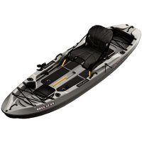 Sun Dolphin Boss 12' SS Sit-On Top/Stand-Up Angler Kayak, Gray