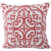 Better Homes & Garden Block Embroidered Medallion Decorative Pillow