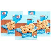 (3 Pack) Gamesa Maravillas Vanilla Flavored Cookies, 5 Packs Per Box, 17.2 oz Box