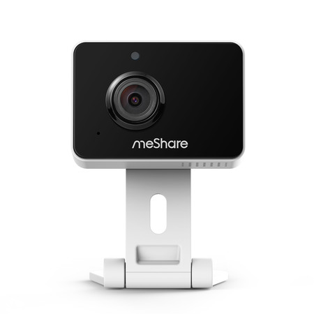 Hidden Outdoor Security Camera (meShare 1080p Mini Wireless Two-way Audio Camera with Free 6-Month Cloud Service Plan and Cloud AI Security-Works with Google Assistant )