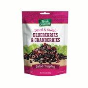 Fresh Gourmet Dried Blueberries & Cranberries Salad Toppings 3.5 oz