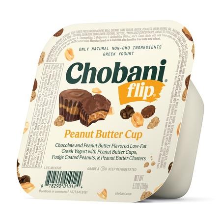 Chobani, Flip Peanut Butter Cup Low-Fat Greek Yogurt, 5.3 Oz.