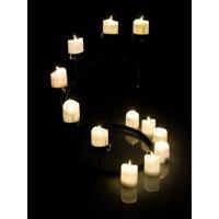 Product Image Tea Light Candles Warm White AGPtek 6 PCS LED Flameless Battery Operated Tealight