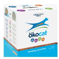 Okocat Clumping Wood Cat Litter, 19.8-lb