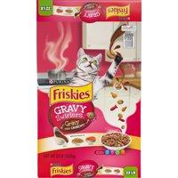 Friskies Gravy Swirlers Adult Dry Cat Food (Various Sizes)