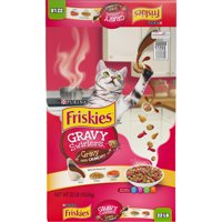 Friskies Gravy Swirlers Dry Cat Food, 22 lb