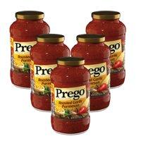 (5 Pack) Prego Roasted Garlic Parmesan Italian Sauce, 24 oz.