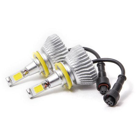 Biltek LED Low Beam Conversion Bulbs for 2010-2013 Volkswagen Rountan (H11 Bulbs) - image 3 de 4