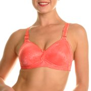 d26e9fe5f7 Angelina 6-Pack Wire-Free Full Coverage Bras with Floral Design