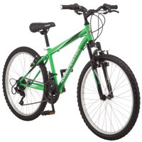 "Roadmaster Granite Peak 24"" Boy's Mountain Bike, Green/Black"