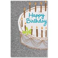 American Greetings Shining Celebration Birthday Card with Glitter