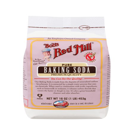 - (2 Pack) Bob Red Mill Baking Soda, 16 oz