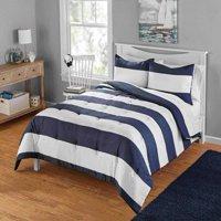 Your Zone Cabana Stripe Comforter Set, 1 Each