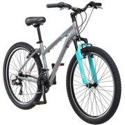 """26"""" Schwinn Sidewinder Women's Mountain Bike, Silver/Blue"""