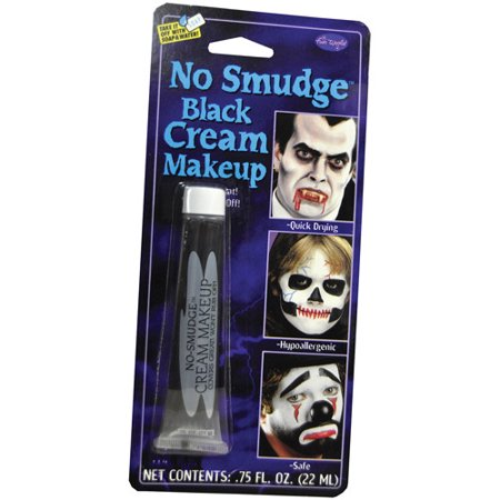 No Smudge Makeup Adult Halloween Accessory](Black And White Face Halloween Makeup)