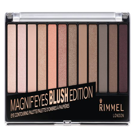 Rimmel Magnif'eyes Eyeshadow Palette, Blush (By Terry Eye Designer Palette 1 Smoky Nude)