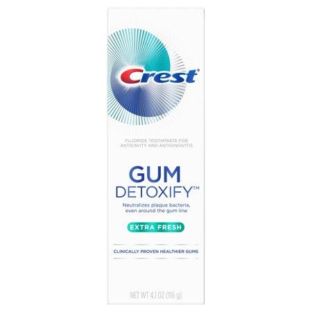 Crest Gum Detoxify Extra Fresh Toothpaste, 4.1 oz