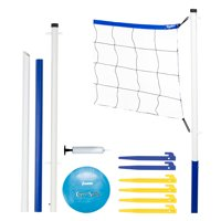 Franklin Sports Beach & Backyard Recreational Volleyball Set