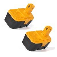 2 Pack RYOBI 18V Battery -Replacement for RYOBI BPP-1817,ABP1801,ABP1803,BPP-1813,BPP-1815, BPP-1817,BPP-1817/2,BPP-1817M, BPP-1820,P100
