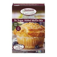 Namaste Foods Gluten Free No Sugar Added Muffin Mix, 14 oz