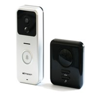 Emerson Wifi Smart Video Doorbell with 2 Way Talk, Night Vision, Motion Activated Alerts ER107001