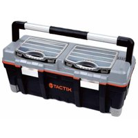 """Tactix 26"""" Toolbox with Organizers"""