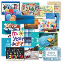 Mega Birthday Greeting Card Value Pack - Set of 40 (2 of each)