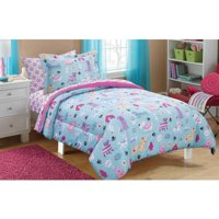 Mainstays Kids Puppy Love Bed in a Bag Bedding Set