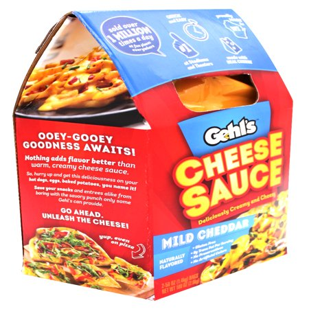Gehl's Mild Cheddar Cheese Sauce, 50 OZ (2 Ct)