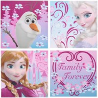 Disney Frozen Canvas Wall Art 4 pc Pack
