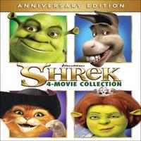 Shrek 4 Movie Collection (Anniversary Edition) (Blu-ray + Digital HD)