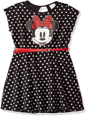 Polka Dot Belted Dress (Little Girls & Big Girls)