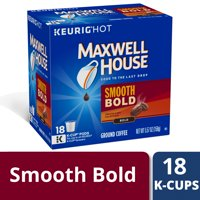 Maxwell House Smooth Bold Coffee K-Cup Pods, 18 count